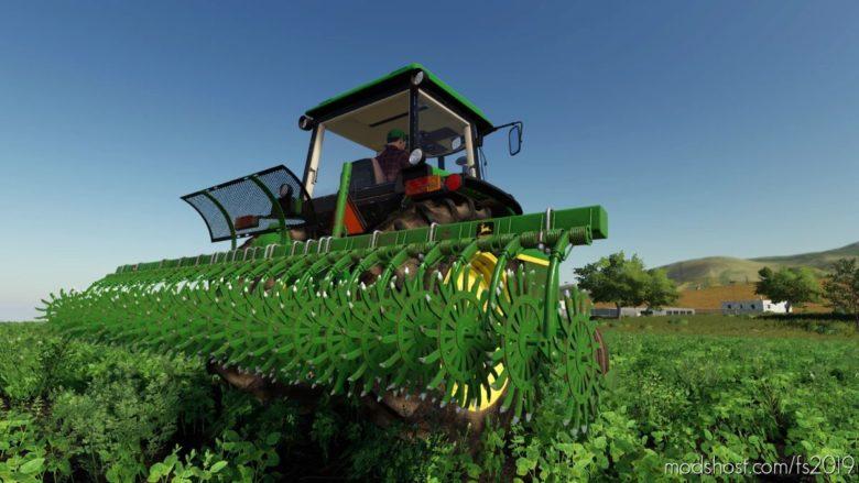 John Deere 400 Rotary HOE for Farming Simulator 19