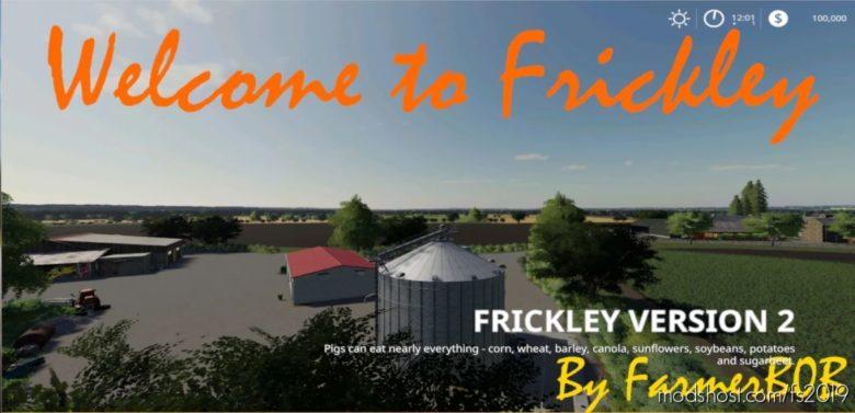 Frickley, Doncaster Uk V002 for Farming Simulator 19