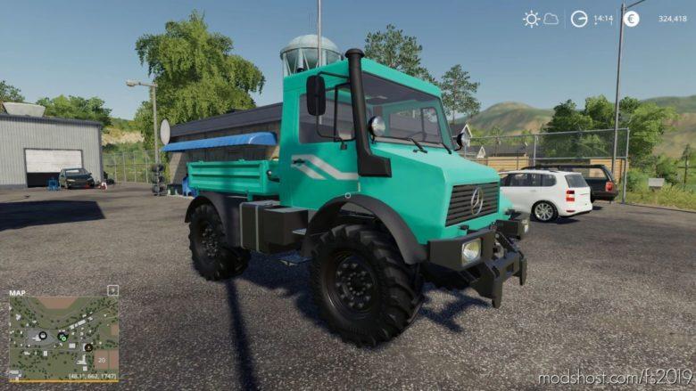 Unimog U90 for Farming Simulator 19