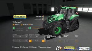 NEW Holland T8 V1 & V2 By BOB51160 for Farming Simulator 19