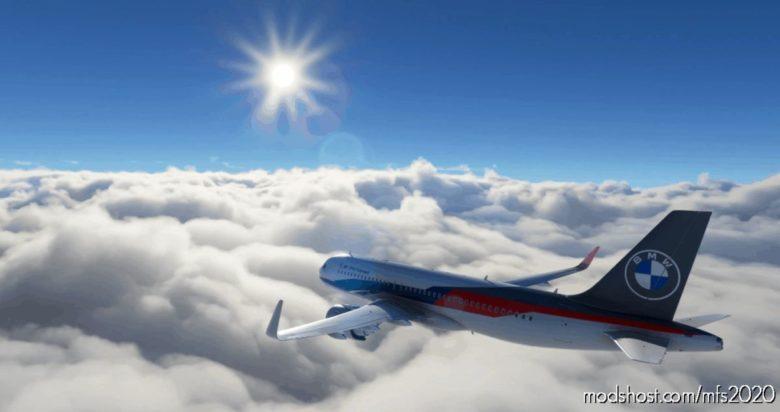 BMW M Motorsport A32NX Livery for Microsoft Flight Simulator 2020