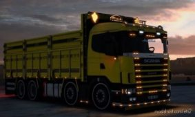 Scania 124G Kirkayak [1.40] for Euro Truck Simulator 2