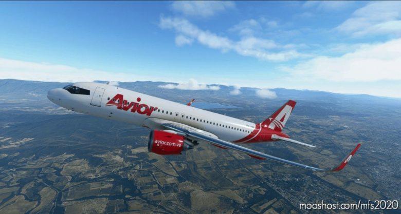 [A32NX] Avior Airlines 8K NX for Microsoft Flight Simulator 2020