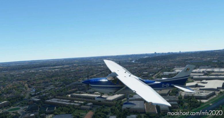 Carenado Cessna 182 Skylane Belgium – Federal Police G-01/G-04 for Microsoft Flight Simulator 2020