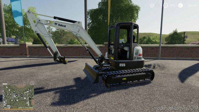 Bobcat E55 for Farming Simulator 19