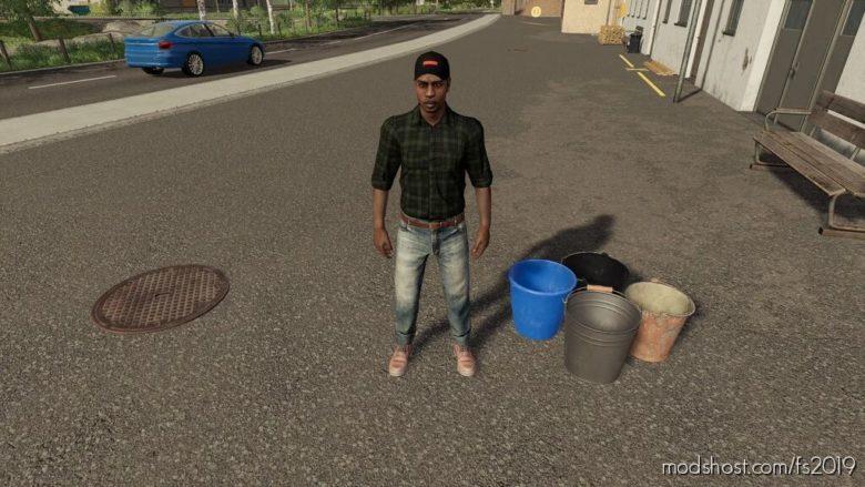 Buckets Pack for Farming Simulator 19