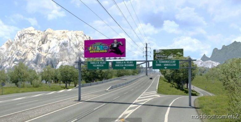 Vanessa Pashmina Map V5.1 [1.40] for Euro Truck Simulator 2