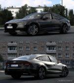 Audi A7 Sportback 2018 V2 [1.40] for Euro Truck Simulator 2