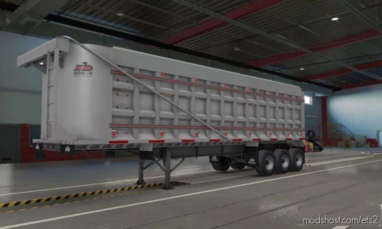 Benson Dump Trailer [1.35 – 1.40] for Euro Truck Simulator 2