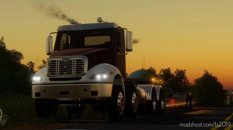 Freightliner Columbia for Farming Simulator 19