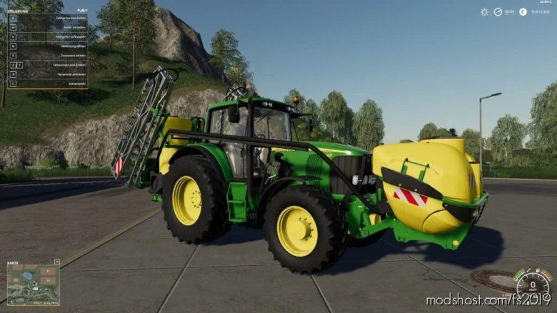 John Deere Sprayer Pack V1.2 for Farming Simulator 19