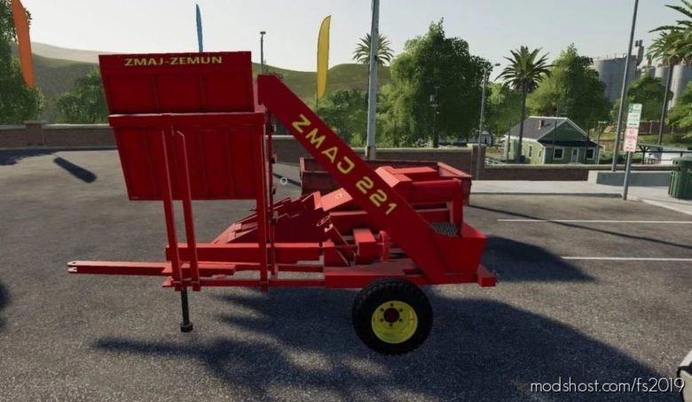 Zmaj 221 With Bunker for Farming Simulator 19