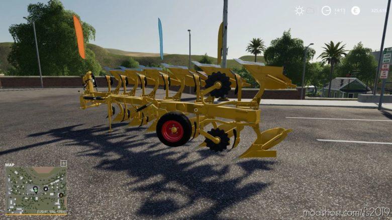 Rumptstad Plow for Farming Simulator 19