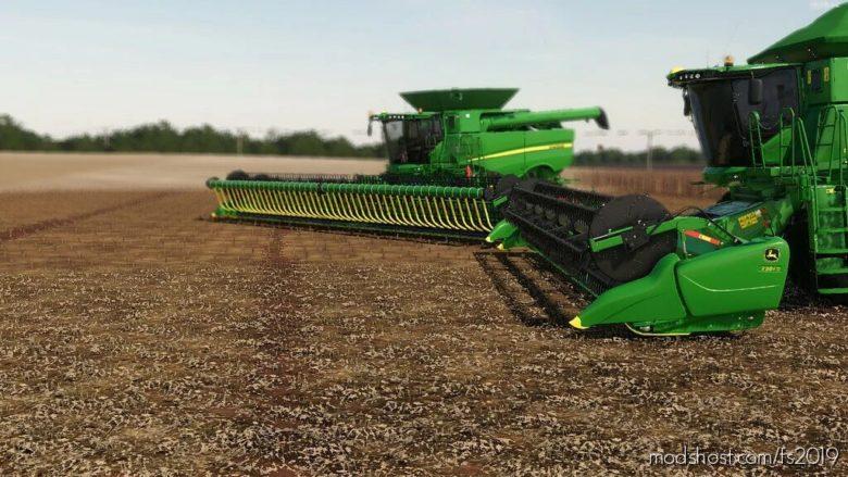 Pack John Deere 700FD V1.5 for Farming Simulator 19