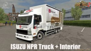 Isuzu NPR 2018 [1.40] for Euro Truck Simulator 2