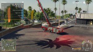 Ladder Fire Truck for Farming Simulator 19
