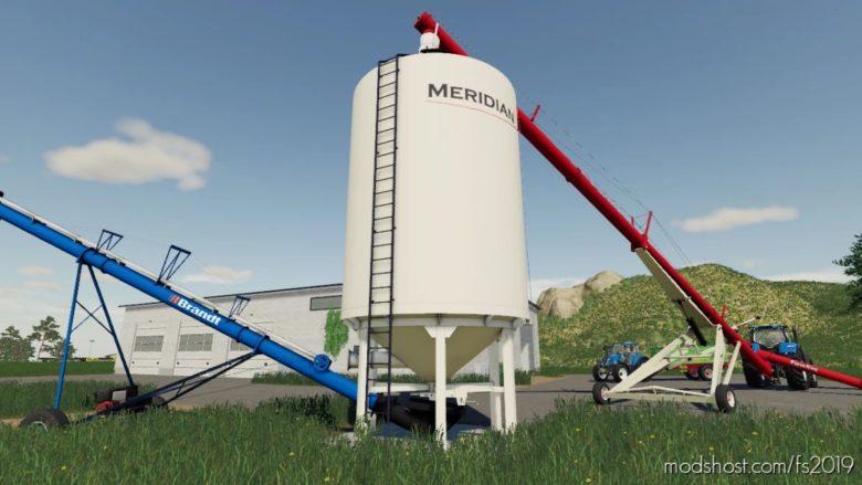 Meridian Custom Farm Silo for Farming Simulator 19