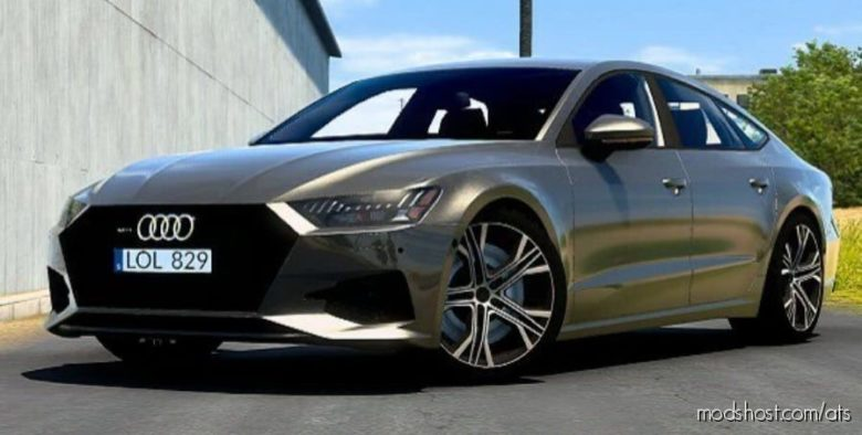 Audi A7 Sportback 2018 V2.0 [1.40] for American Truck Simulator