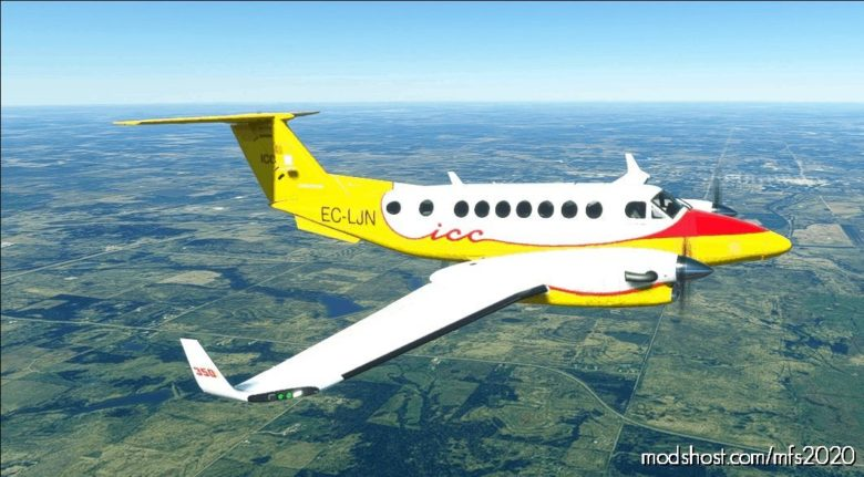 ICC Beech 350I for Microsoft Flight Simulator 2020