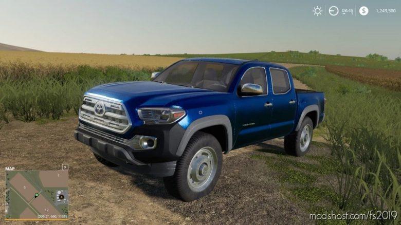Toyota Tacoma Game Warden for Farming Simulator 19