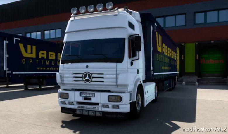 Mercedes Benz SK V8 Open Pipe [1.40] for Euro Truck Simulator 2