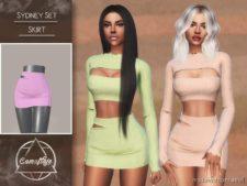 Sydney SET (Skirt) for The Sims 4
