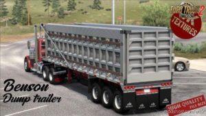 Benson Dumb Trailer V1.1 [1.40.X] for Euro Truck Simulator 2
