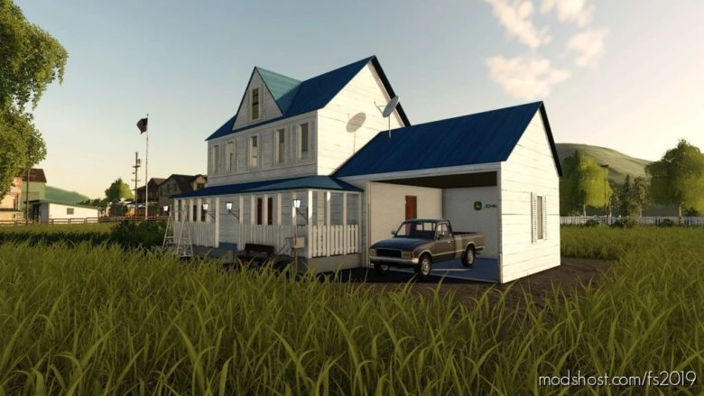 American Richport House for Farming Simulator 19