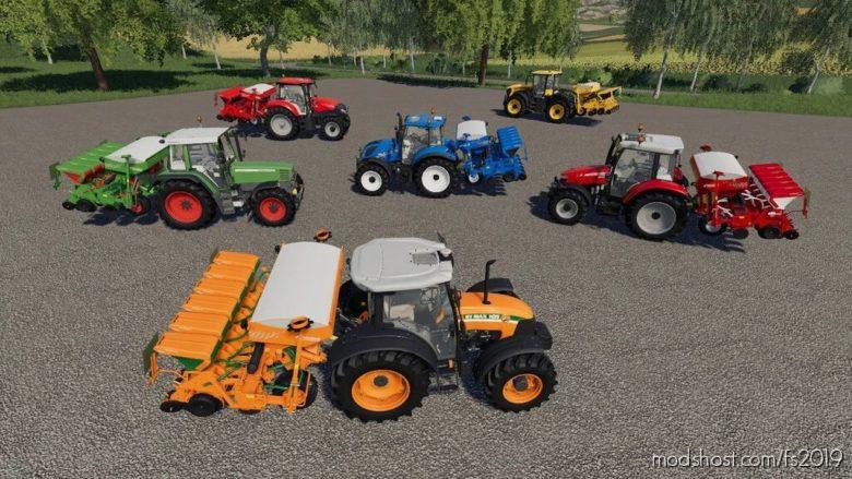 Kverneland Optima V For ALL In-Game Crops for Farming Simulator 19