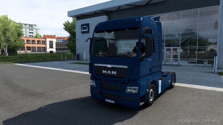 MAN TGX V2.5 (Madster) Fmod & Open Window [1.40.3] for Euro Truck Simulator 2