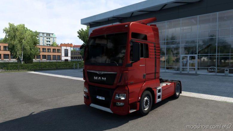 MAN TGX Euro 6 V2.2 (Madster) Fmod & Open Window [1.40.3] for Euro Truck Simulator 2