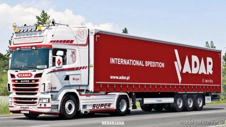 Scania Open pipe V8 Crackle V12.0 for Euro Truck Simulator 2