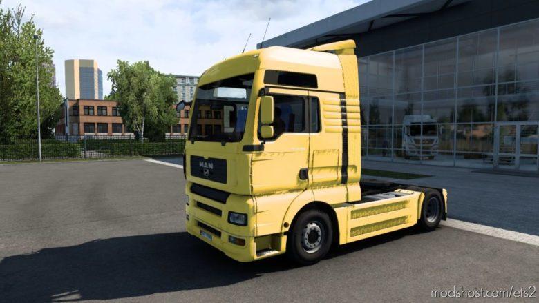 MAN TGA V1.6.1 (Madster) Fmod & Open Window [1.40.3] for Euro Truck Simulator 2