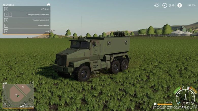 Ural Typhoon for Farming Simulator 19