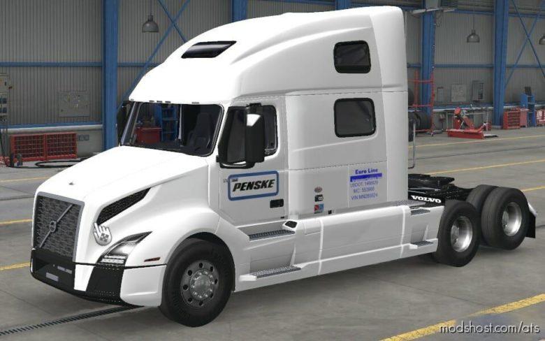 Euro Line Skin Pack for American Truck Simulator