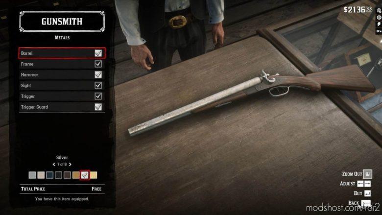Krampus Double Barrel for Red Dead Redemption 2