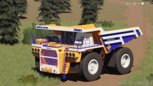 Belaz 75601 Mining Truck for Farming Simulator 19