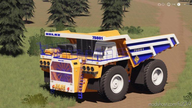 Belaz 75601 Mining Truck for Farming Simulator 19