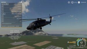 UH60 Black Hawk Helicopter for Farming Simulator 19