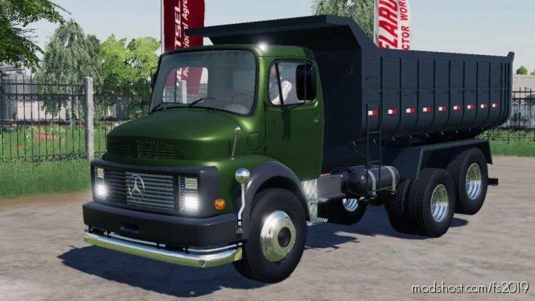 Mercedes Benz L-Series for Farming Simulator 19