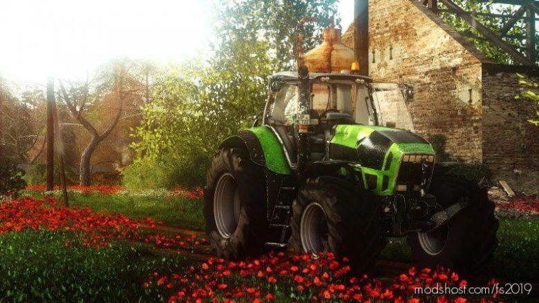 Deutz-Fahr Agrotron X720 for Farming Simulator 19