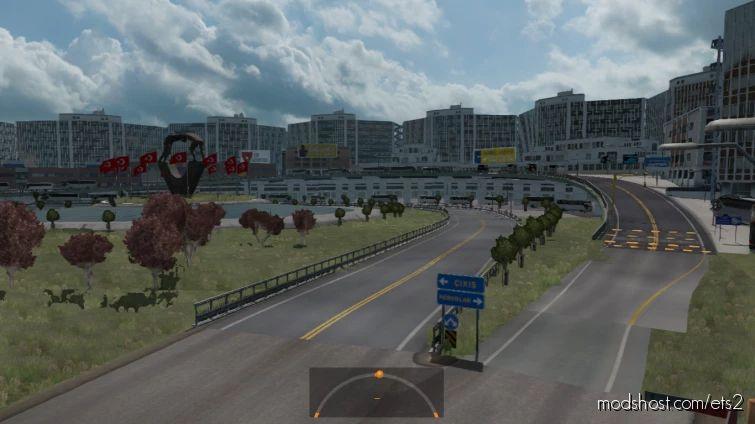 ATAş Turkey Map V1.1 for Euro Truck Simulator 2