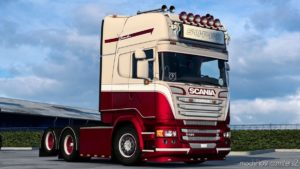 Metallic Skin For Scania for Euro Truck Simulator 2