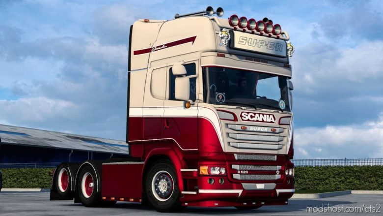 Metallic Skin For Scania for Euro Truck Simulator 2