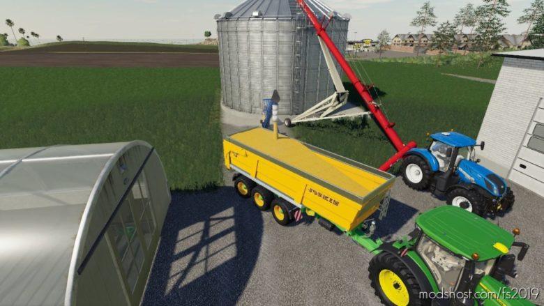 GSI Placeable Grain BIN V1.1 for Farming Simulator 19