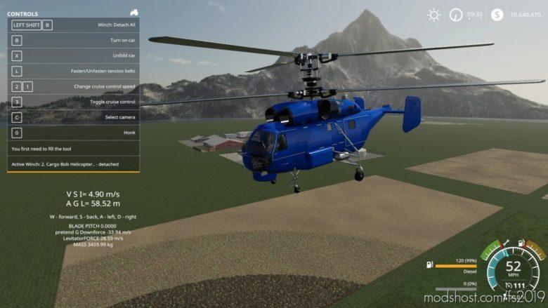 KA 27 Helicopter V1.0.0.1 for Farming Simulator 19