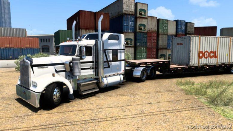 Kenworth W900L – BIG BOB Long Distance Edition V3.5.2 for Euro Truck Simulator 2