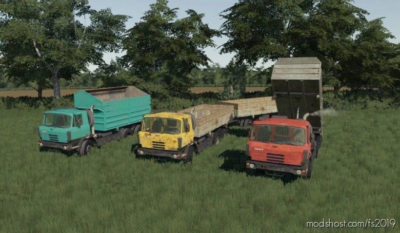 Tatra 815 S3 Agro for Farming Simulator 19