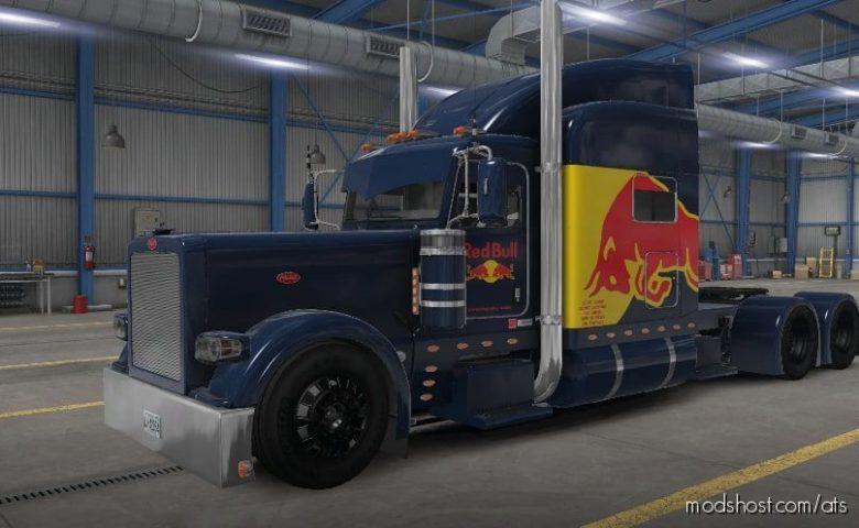 JON Ruda RED Bull Skin for American Truck Simulator