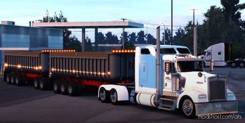 Descomprime Dompes Shanekeros Trailer [1.40] for American Truck Simulator